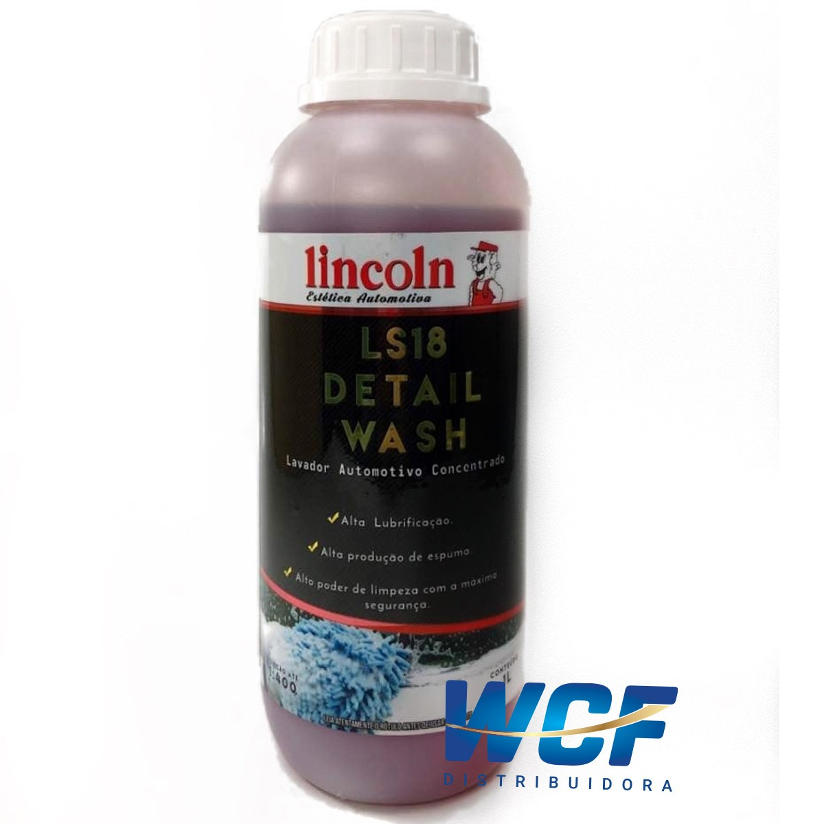 LINCOLN SHAMPOO AUTOMOTIVO LS18  2 LITRO