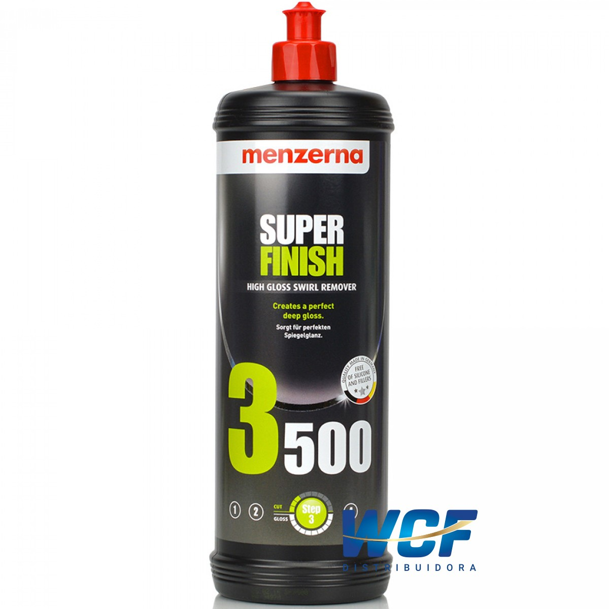 SUPER FINISH HIGH GLOSS SWIRL REMOVER 3500 1LT MENZERNA