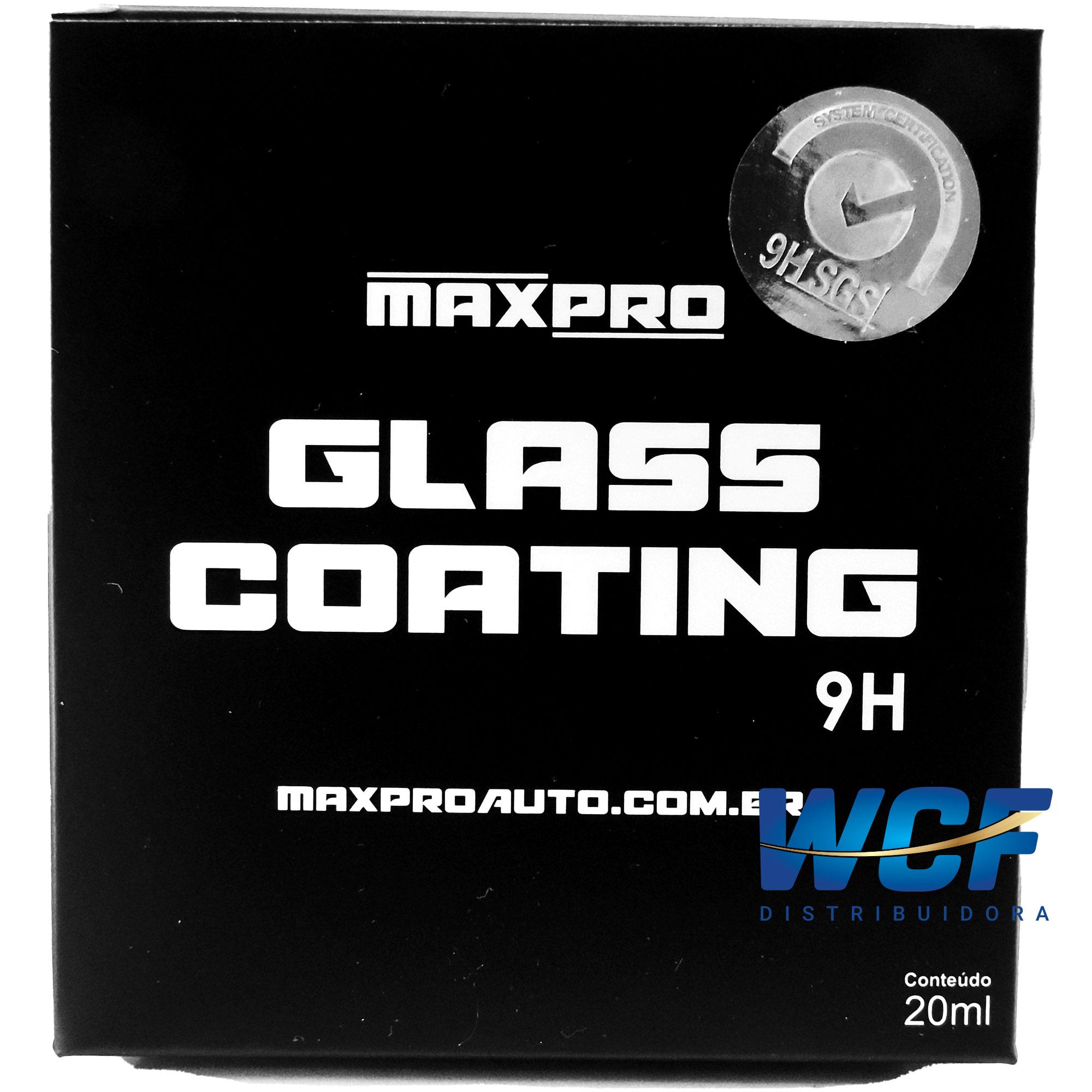 MAXPRO GLASS COATING 9H 20ML
