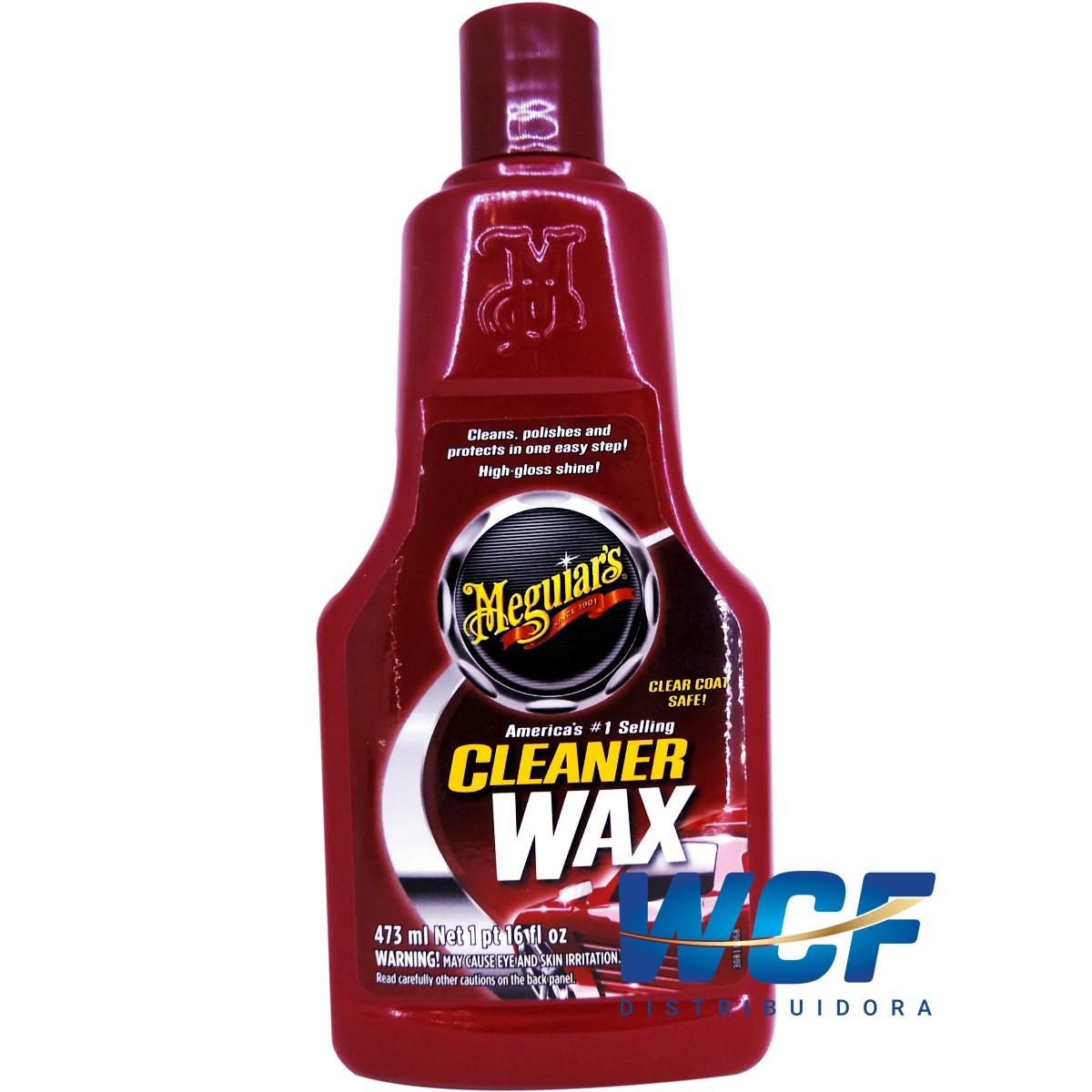 MEGUIARS CERA LIQUIDA CLEANER WAX A1216 473ML