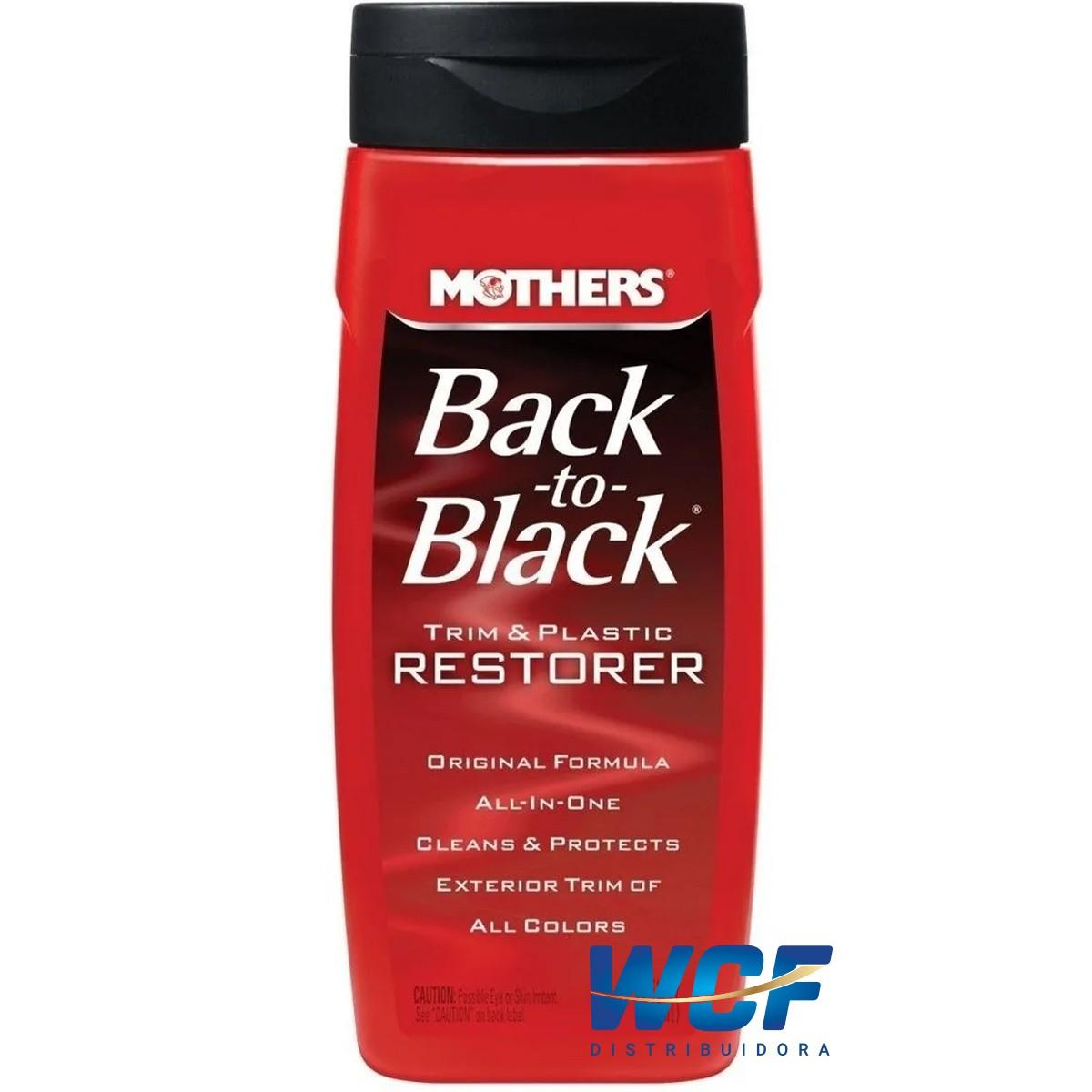 RESTAURADOR PLASTICO EXTERNO BACK TO BLACK 355ML MOTHERS