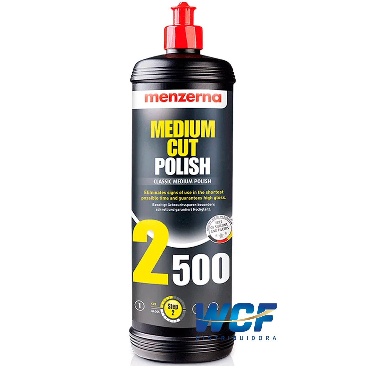 MEDIUM CUT POLISH MEDIO 2500 1LT MENZERNA