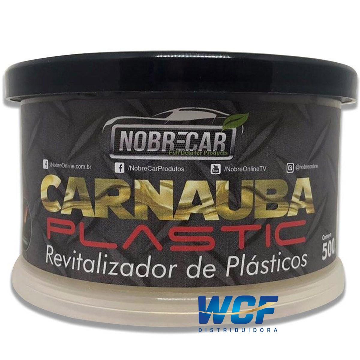 NOBRE CARNAUBA PLASTIC REVITALISADOR DE PLASTICOS 500G