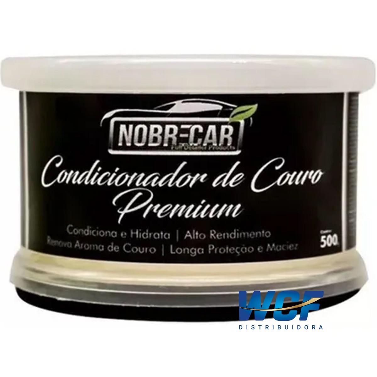 NOBRE CONDICIONADOR DE COURO PASTA PREMIUM 500GR