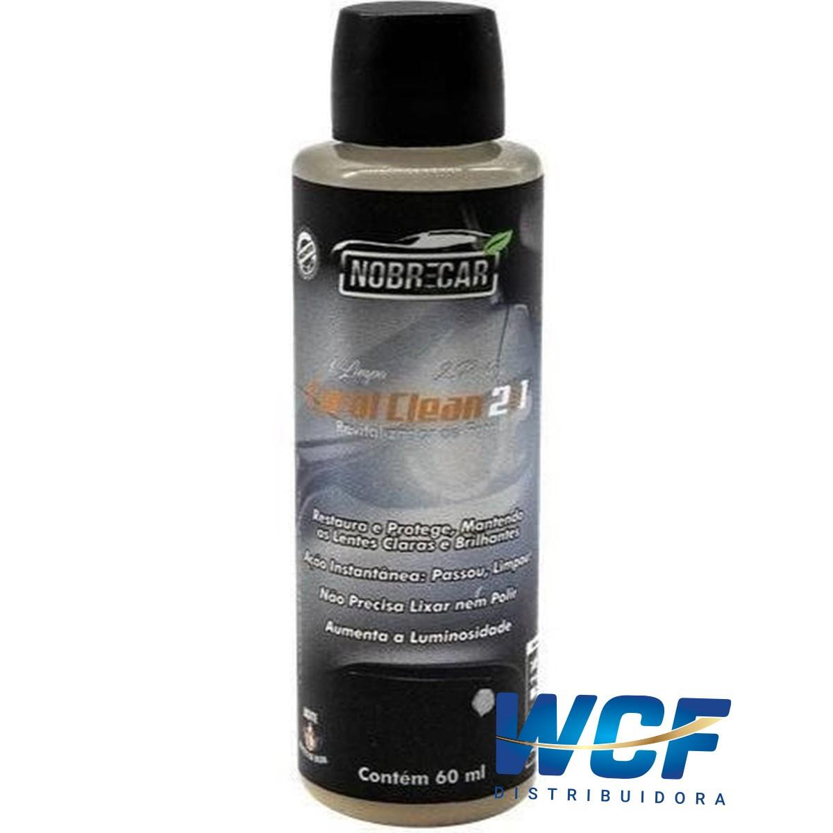 NOBRE FAROL CLEAN 2X1 LIMPA PROTEGE 60 ML