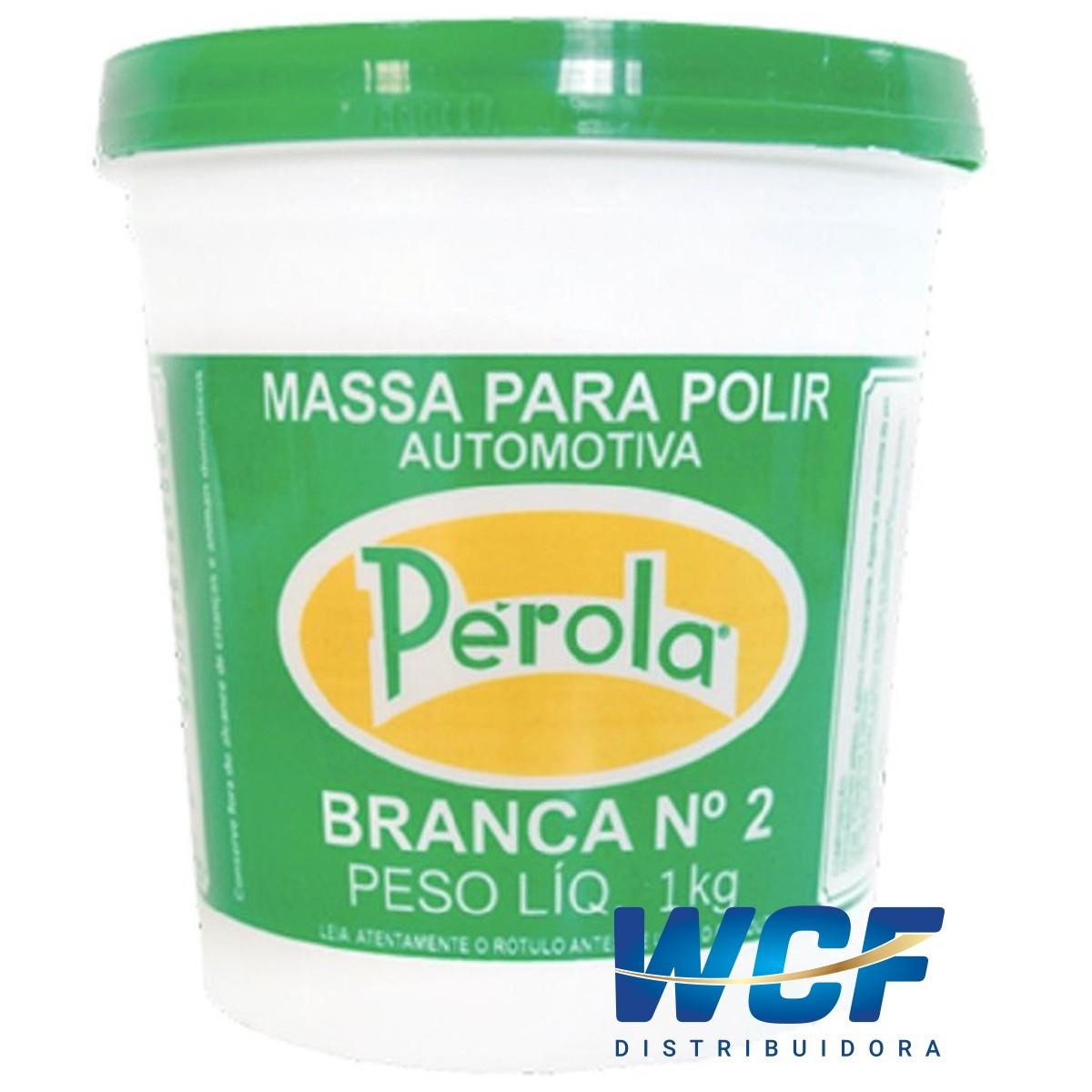 PEROLA MASSA DE POLIR N2 BASE SOLVENTE 1KG