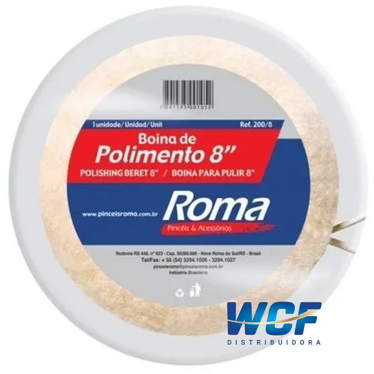 ROMA BOINA DE POLIMENTO AMARRAR 8