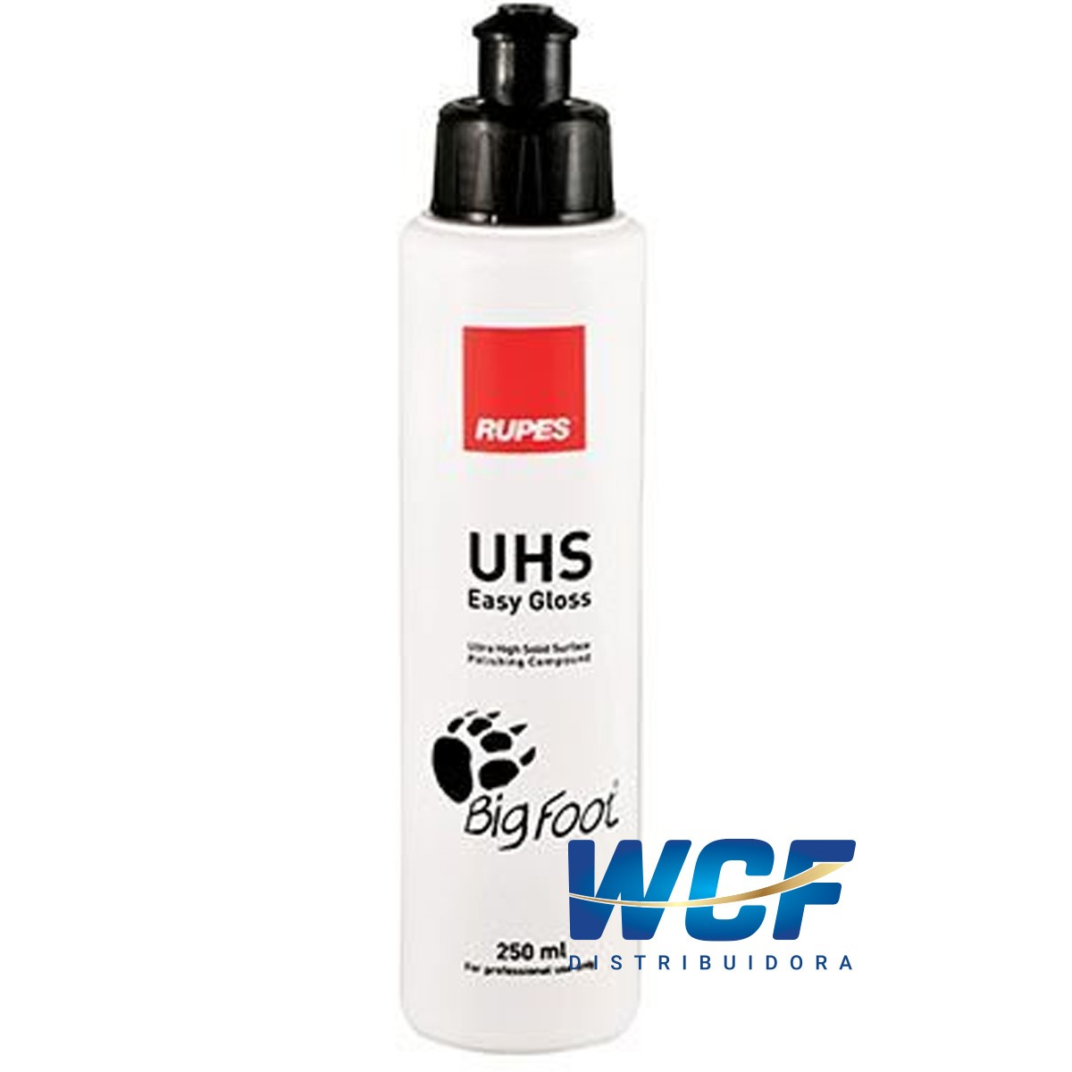 RUPES COMPOSTO UHS EASY GLOSS ULTRA HIGH SOLID CINZA 250 ML