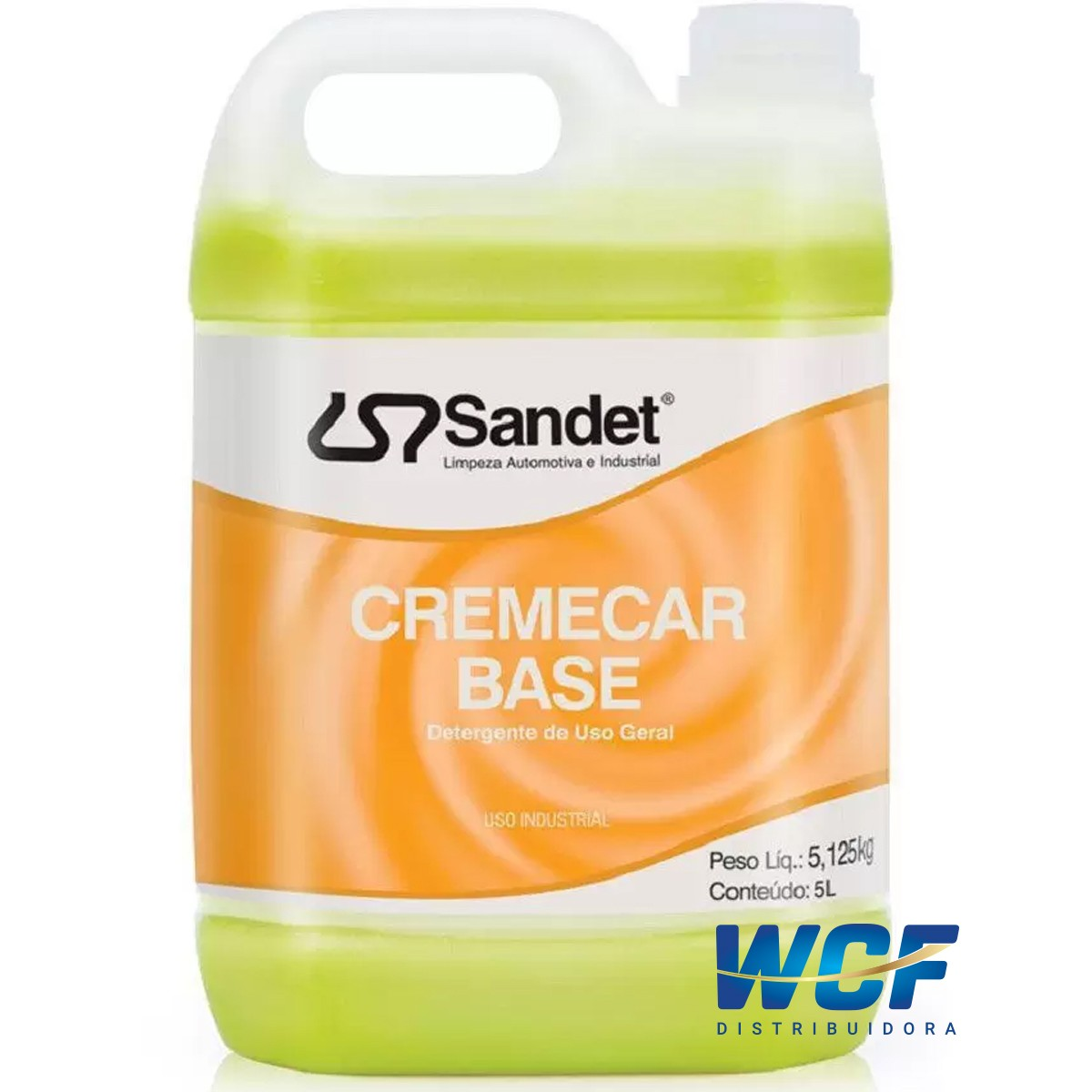 SANDET CREMECAR BASE SHAMPOO 5LT