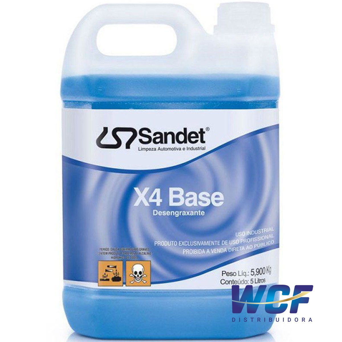 SANDET SOLUPAM X4 BASE 5LT