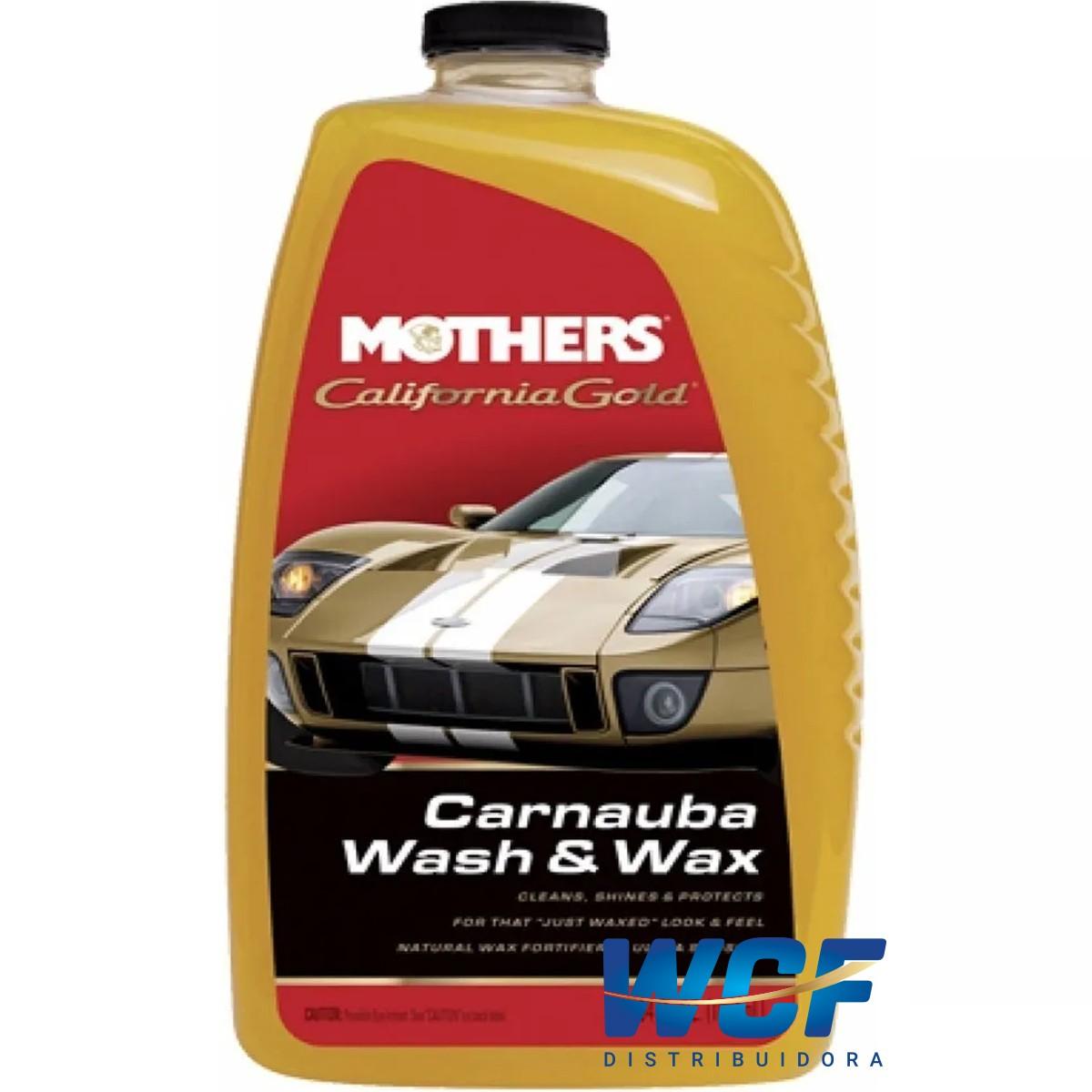 SHAMPOO DE CARNAUBA AUTOMOTIVO WASH E WAX MOTHERS 1800ML