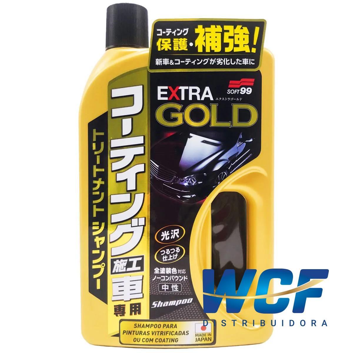 SOFT99 EXTRA GOLD SHAMPOO CARROS COATING