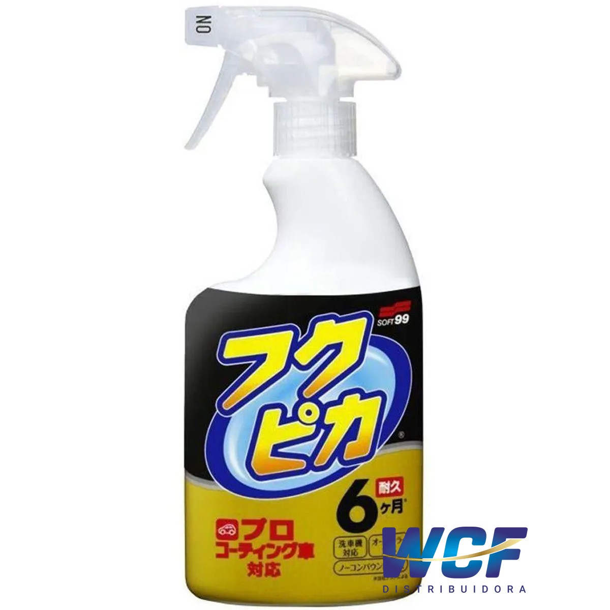 SOFT99 FUKUPIKA STRONG LIMPEZA SECO COM CERA 400 ML