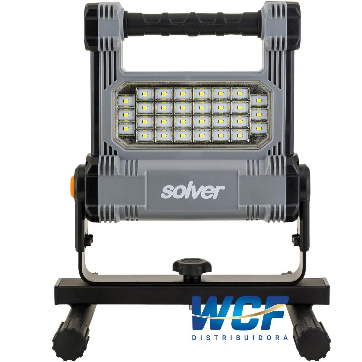 SOLVER REFLETOR PORTATIL RECARREG.10W SLP-501