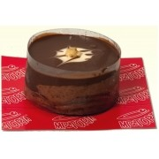 Mini Torta Mousse de Chocolate com Nozes