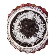 Torta Coco com ameixa - Aro 18