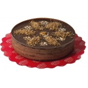 Torta Mousse Nozes com Chocolate