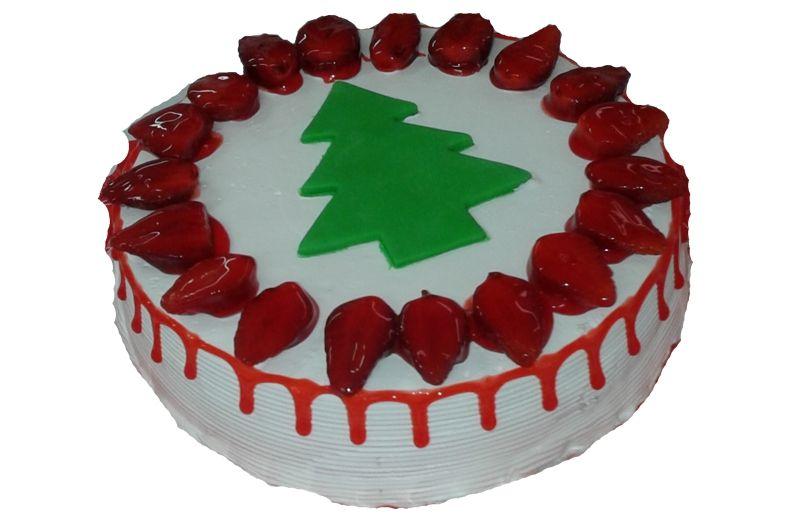 Delícia de Natal de Morango