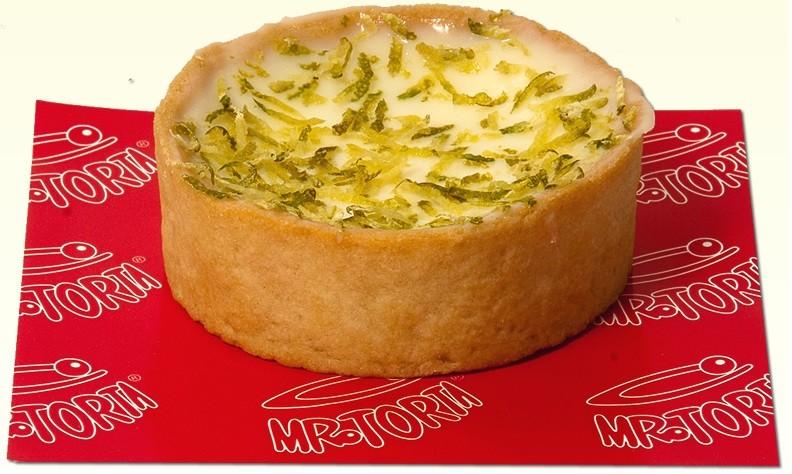 Mini Torta Limão Raspas