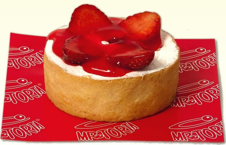 Mini Torta Morango Casquinha