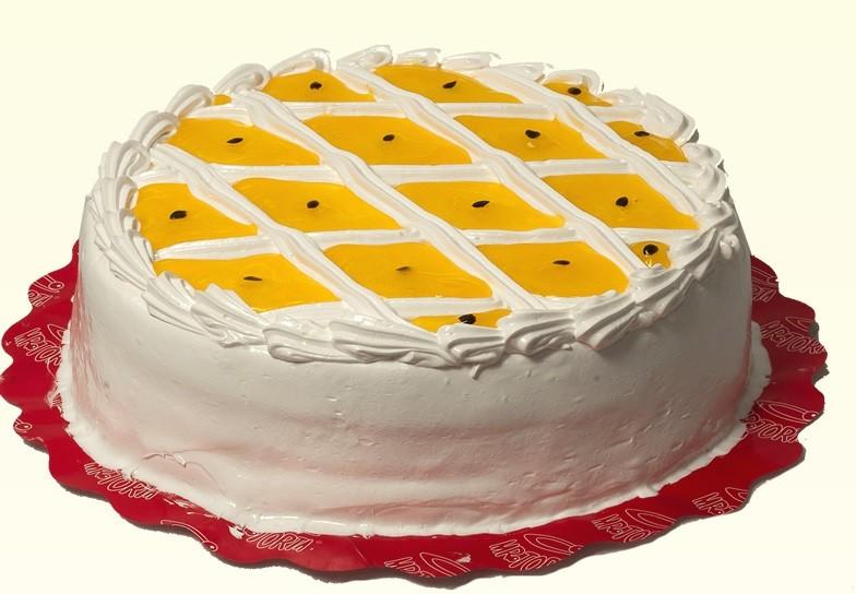 Torta de Maracujá Alta