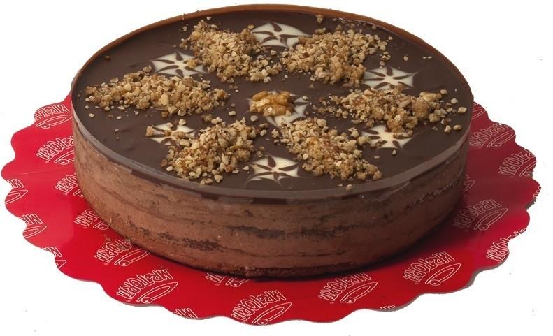 Torta Mousse Nozes com Chocolate