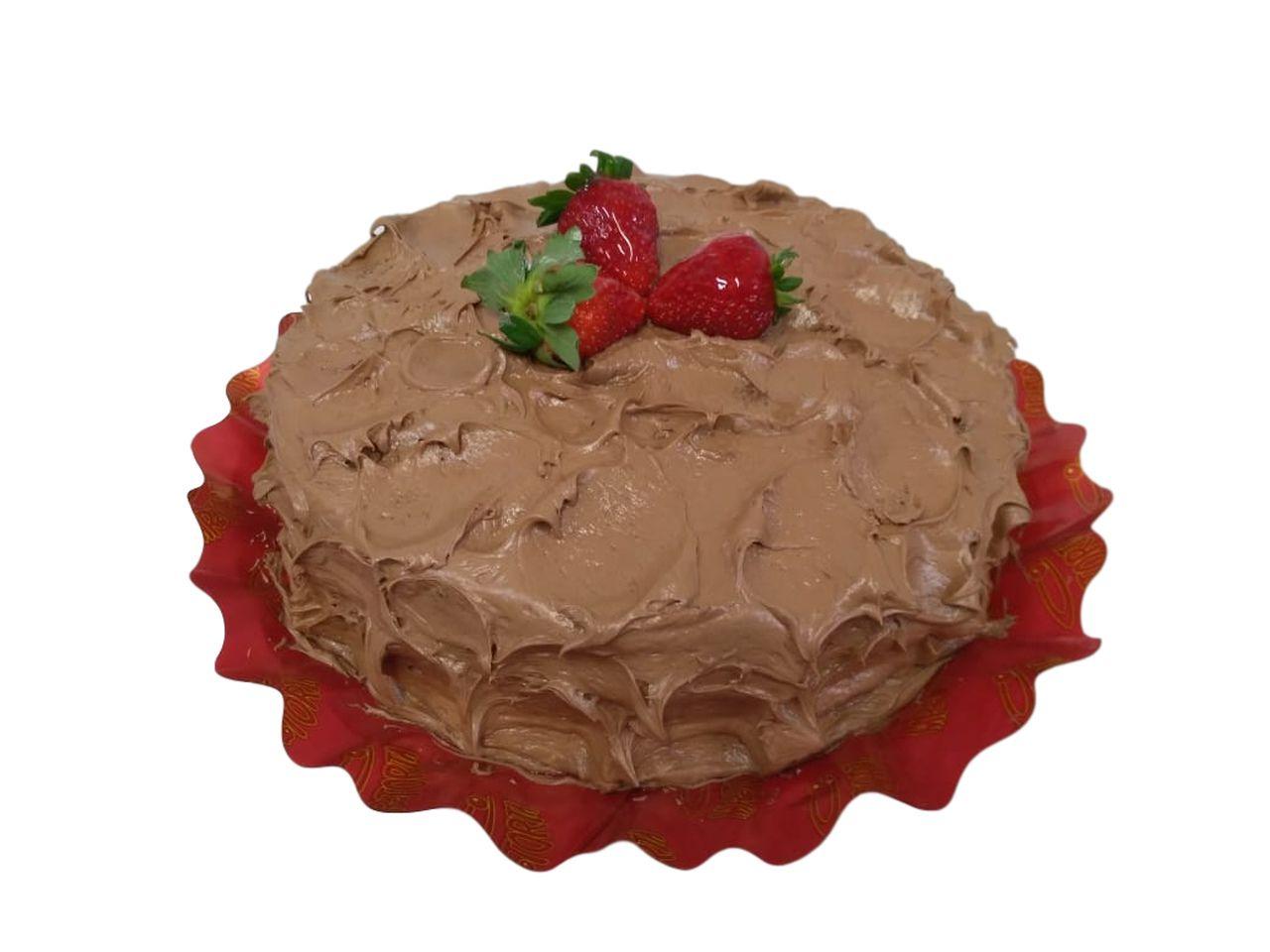 Torta Nutella com Morango
