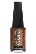 Esmalte Cora 9ml Black 11Glitter Copper
