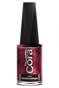 Esmalte Cora 9ml Black 12 Metal Red