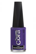 Esmalte Cora 9ml Black 14 Purple Fosco 8
