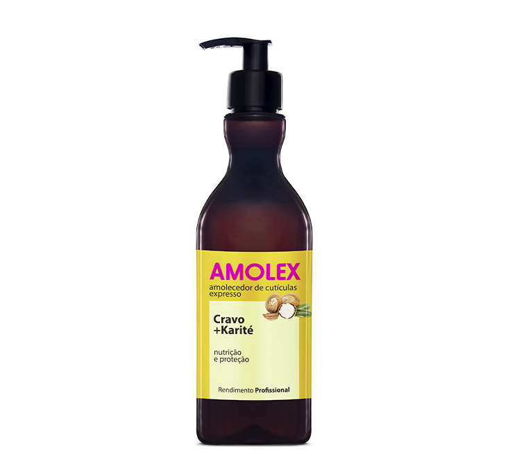 Amolex Cravo +Karité Válvula 400ml
