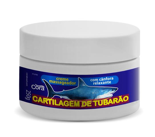 Creme Massageador Cartilagem de Tubarão Cora 250grs