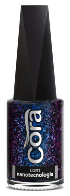 Esmalte Cora 9 ml Chameleon Flakes - New York