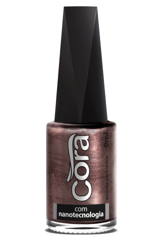 Esmalte Cora 9ml Black 12 Metal Perfect