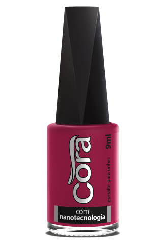 Esmalte Cora 9ml Black 12 Pink 43