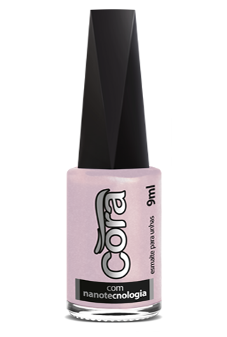 Esmalte Cora 9ml Black 13 Cintilante Tech Nude