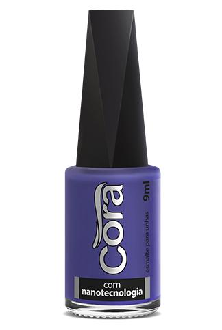 Esmalte Cora 9ml Black 14 Purple 4