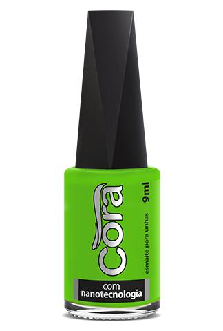 Esmalte Cora 9ml Black 15 Neon Green