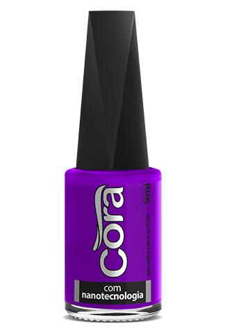 Esmalte Cora 9ml Black 15 Neon Violet