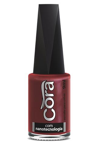 Esmalte Cora 9ml Black 16 Red 88