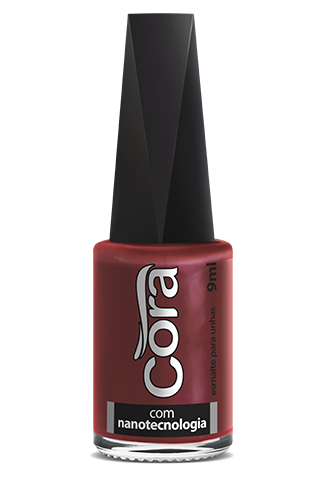 Esmalte Cora 9ml Black 16 Red 88