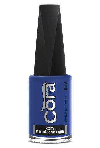 Esmalte Cora 9ml Black  Blues