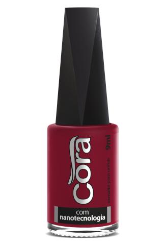 Esmalte Cora 9ml Black Red 70
