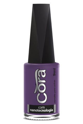 Esmalte Cora 9ml Black Violet 9
