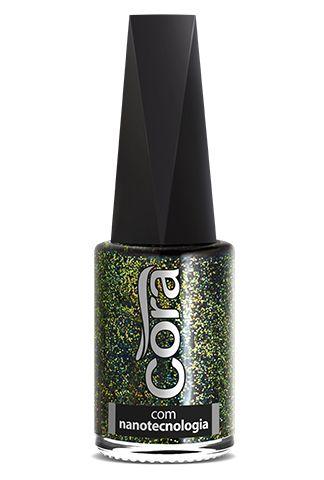 Esmalte Cora 9ml Top Glitter Big Bang