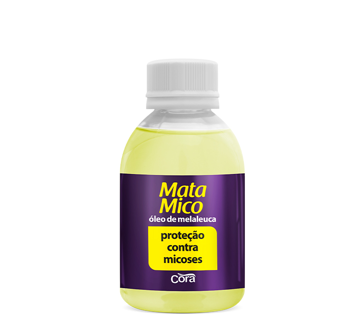 Esmalte Cora Profissional 100ml MataMico Óleo p/Unhas c/Melaleuca