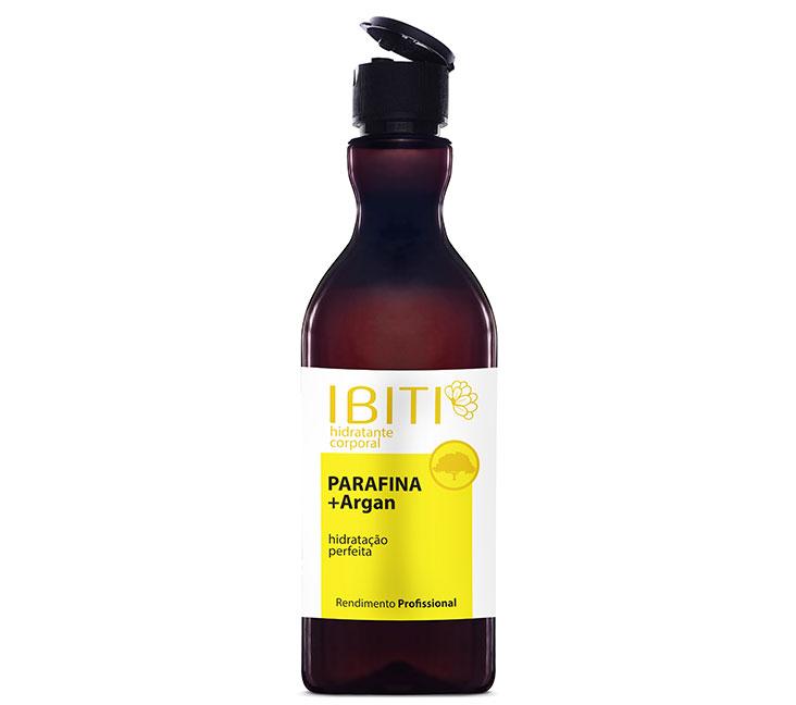 Hidratante Corporal Ibiti Parafina +Argan FlipTop 400ml