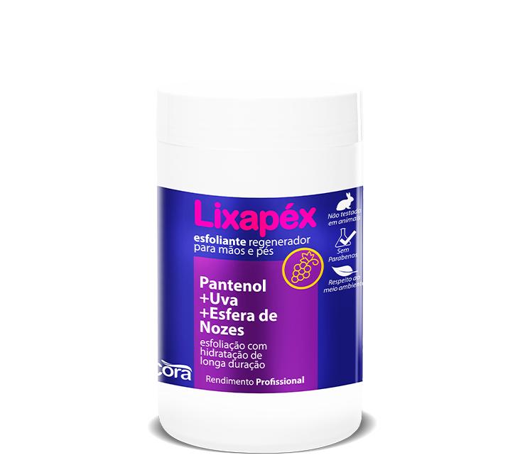 Lixapéx Pantenol +Uva +Esfera de Nozes Potão 1kg