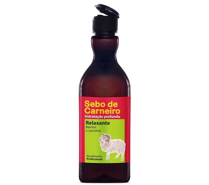 Sebo de Carneiro Relaxante FlipTop 400ml