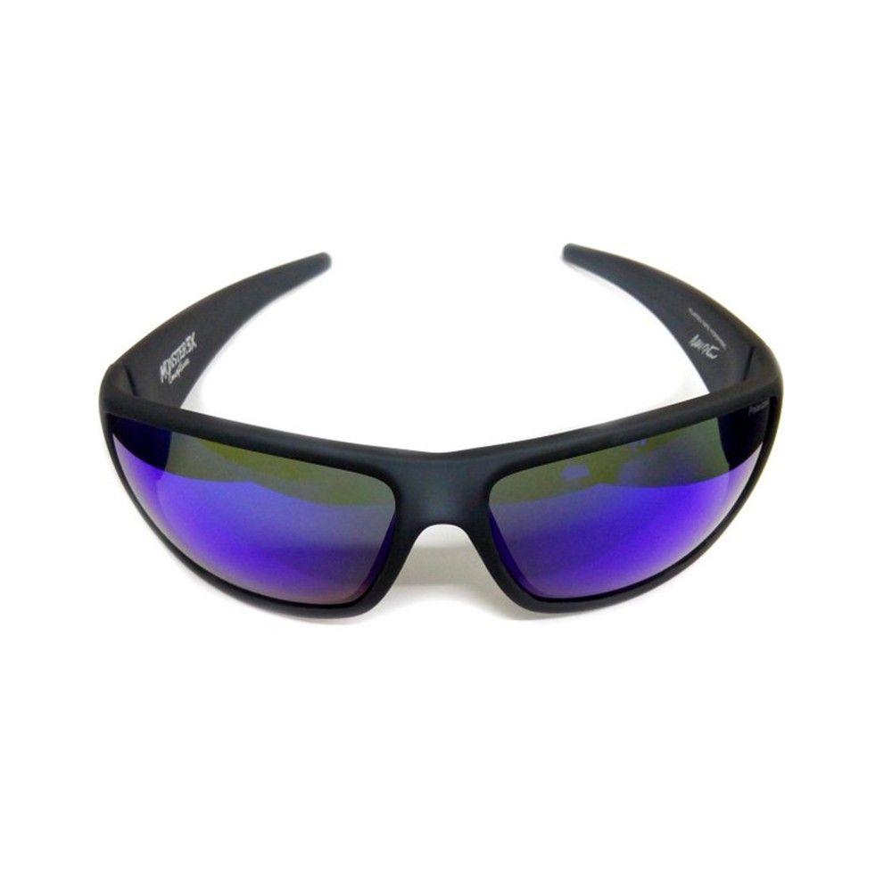 f3191d94a427a Óculos Polarizado Hidrofóbico New Black Monster Monster 3X - Lente Azul